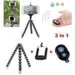 Mini%20Adjustable%20Octopus%20Tripod%20holder%20w/%20Bluetooth%20Remote%20Control%20Shutter