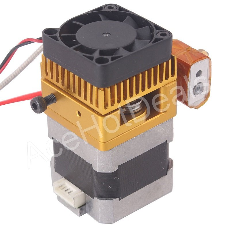 Mk8 extruder nozzle upgrade print head for 3d for Print head stepper motor