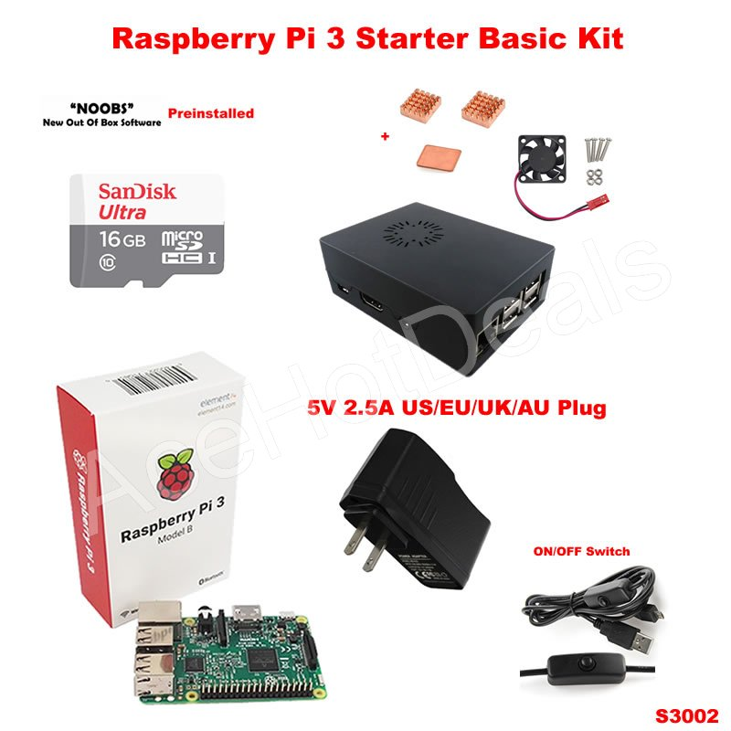 how to connect raspberry pi 3 model b fan