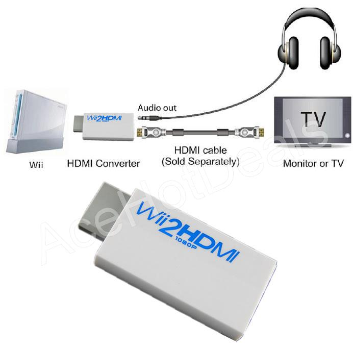 hook up wii with hdmi I was wondering if it is possible to connect the wii u to my pc hub is really useful as you can plug stuff like a 360 and other hdmi devices in.