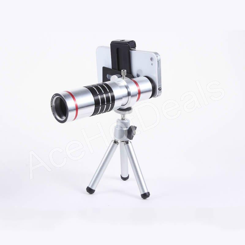 c44199cf317a0a Universale 18 X Telephoto Zoom Lens per tutte le Smart telefono Samsung  iPhone Nokia Sony