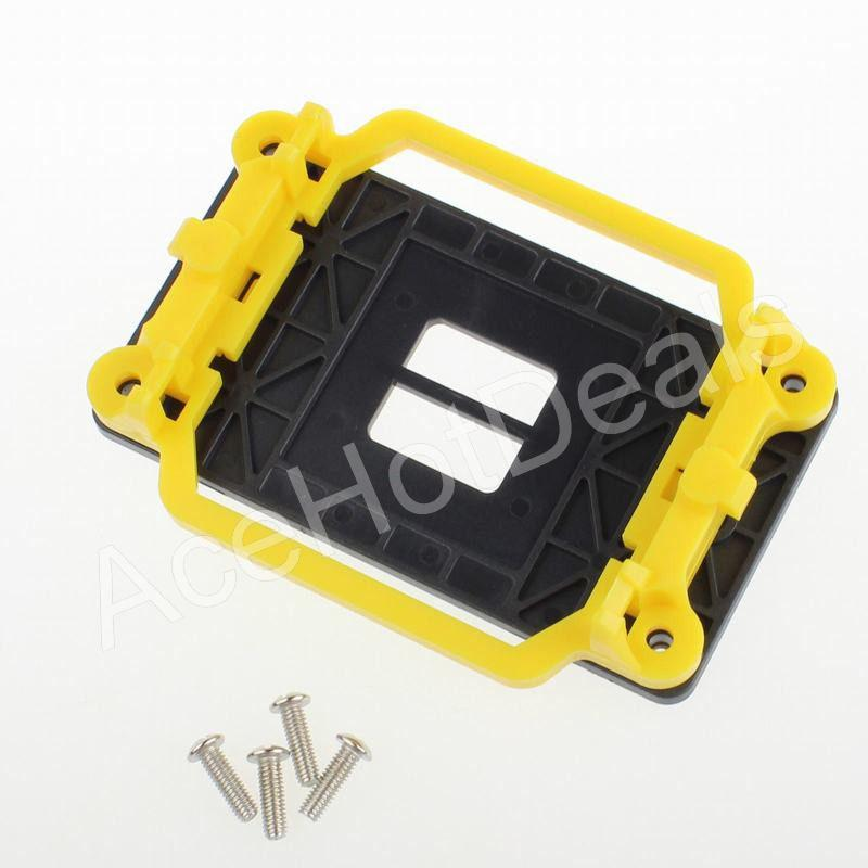 CPU cooler retention mount bracket kit w//4 screw socket AMD AM2AM3 motherboardv!