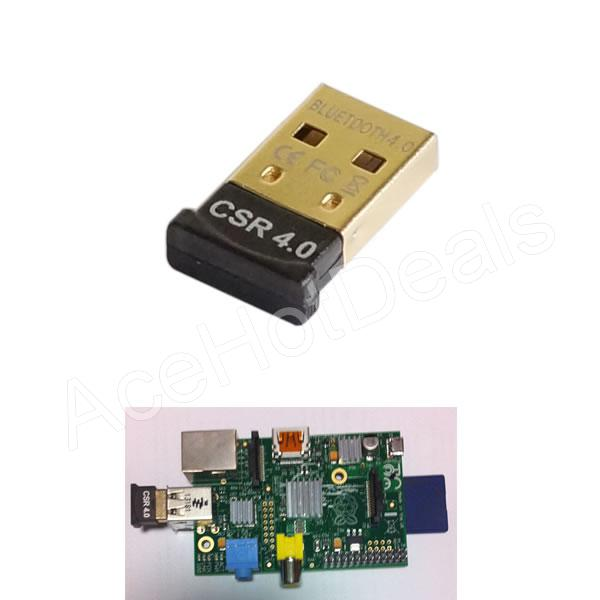 bluetooth 4 0 usb 2 0 dongle adapter for raspberry pi csr. Black Bedroom Furniture Sets. Home Design Ideas