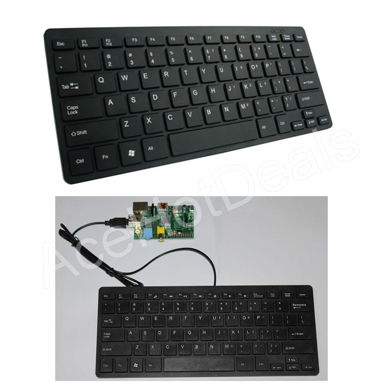 Details about Mini USB keyboard for Raspberry Pi Slim Silent Wired