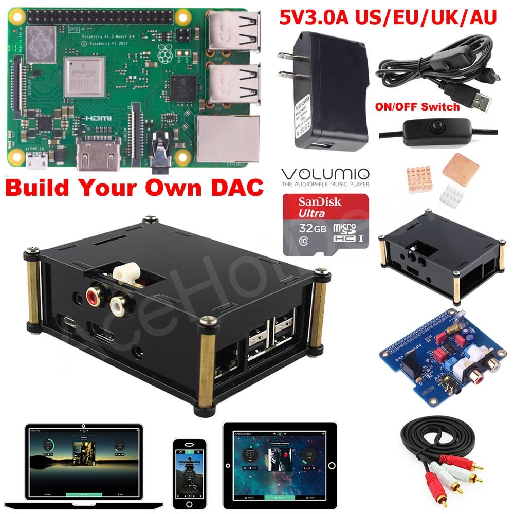 raspberry pi 3 model b b plus dac kit d3b01 rh ebay com